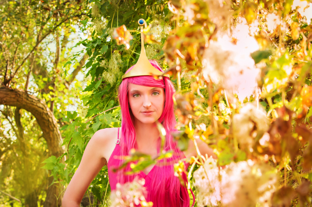 Adventure Time Princess Bubblegum cosplay Lethbridge