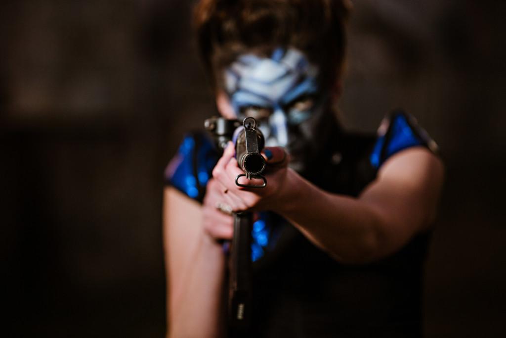 Mass Effect turian inspired shoot